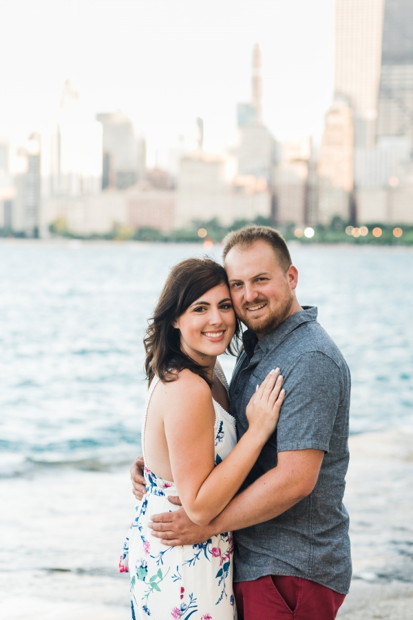 Lakefront Trail Chicago Engagement Session Janet D Photography (28)