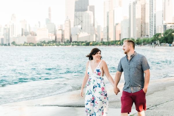 Lakefront Trail Chicago Engagement Session Janet D Photography (3)