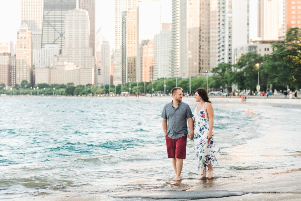 Lakefront Trail Chicago Engagement Session Janet D Photography (30)
