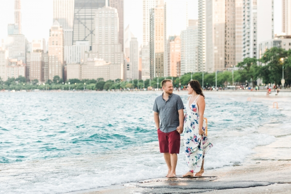 Lakefront Trail Chicago Engagement Session Janet D Photography (31)