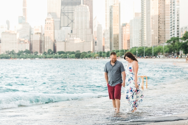 Lakefront Trail Chicago Engagement Session Janet D Photography (33)