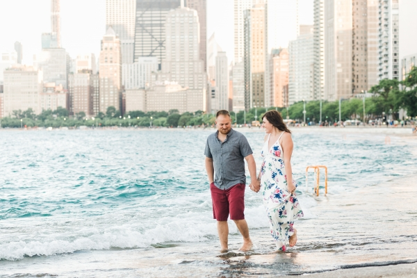 Lakefront Trail Chicago Engagement Session Janet D Photography (34)