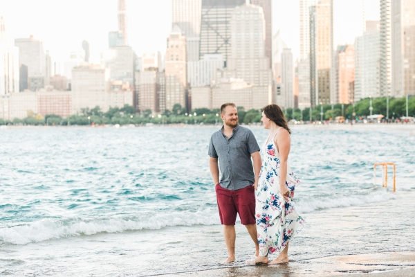 Lakefront Trail Chicago Engagement Session Janet D Photography (35)