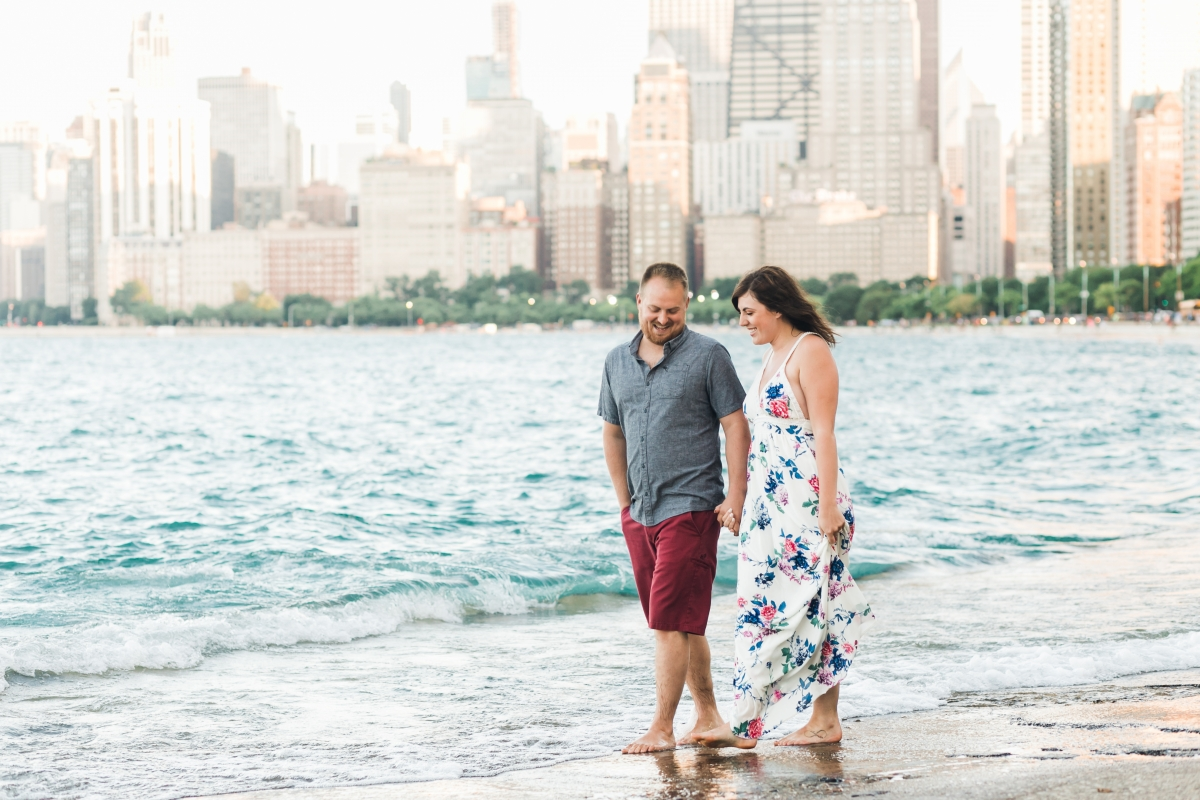 Lakefront Trail Chicago Engagement Session Janet D Photography 36