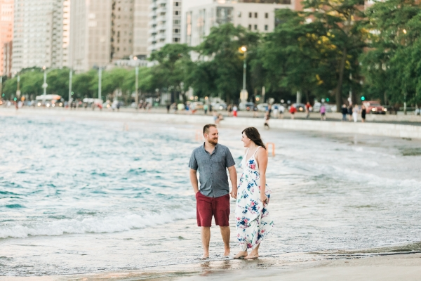 Lakefront Trail Chicago Engagement Session Janet D Photography (37)