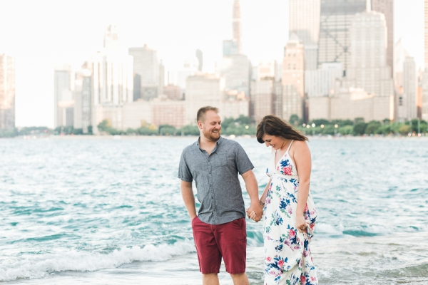 Lakefront Trail Chicago Engagement Session Janet D Photography (38)