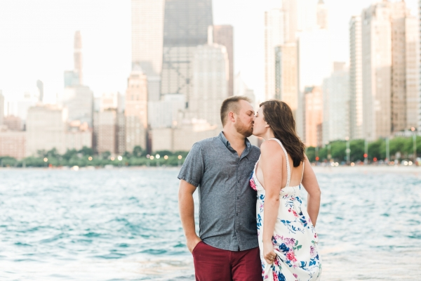 Lakefront Trail Chicago Engagement Session Janet D Photography (39)