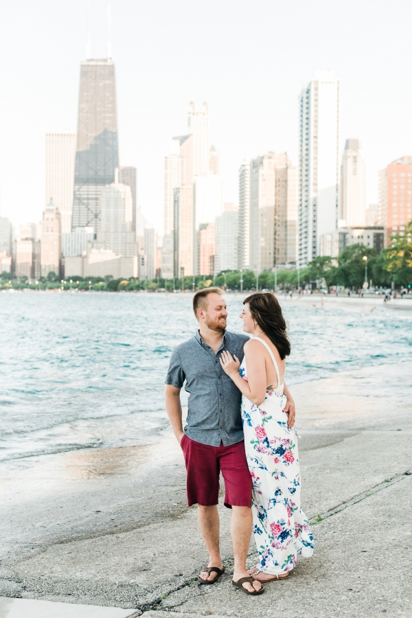 Lakefront Trail Chicago Engagement Session Janet D Photography (4)