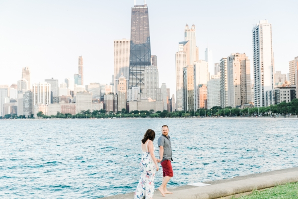 Lakefront Trail Chicago Engagement Session Janet D Photography (42)