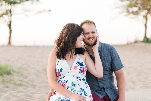 Lakefront Trail Chicago Engagement Session Janet D Photography (45)