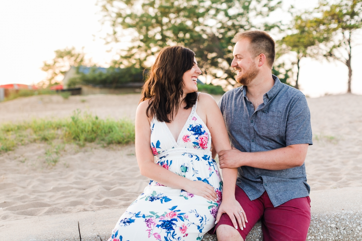Lakefront Trail Chicago Engagement Session Janet D Photography 47