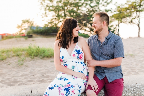Lakefront Trail Chicago Engagement Session Janet D Photography (47)