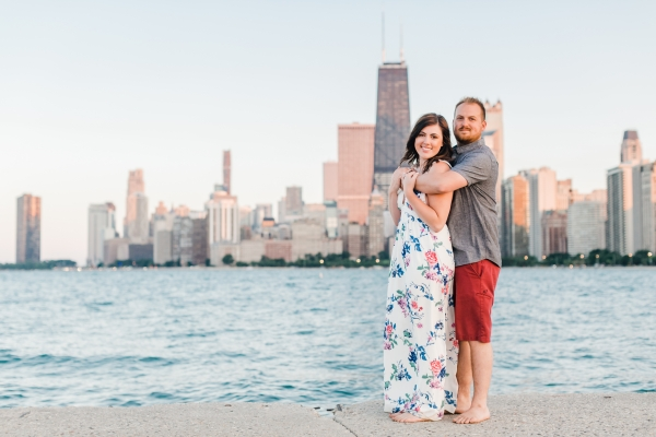 Lakefront Trail Chicago Engagement Session Janet D Photography (49)