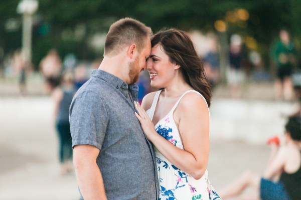 Lakefront Trail Chicago Engagement Session Janet D Photography (5)