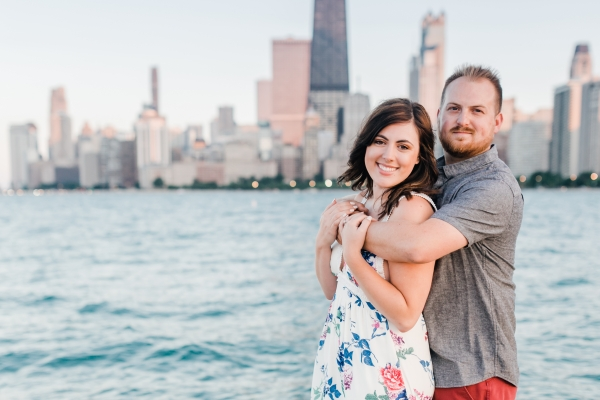 Lakefront Trail Chicago Engagement Session Janet D Photography (50)