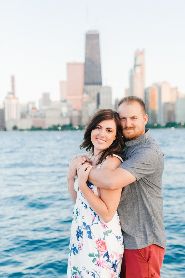 Lakefront Trail Chicago Engagement Session Janet D Photography (51)