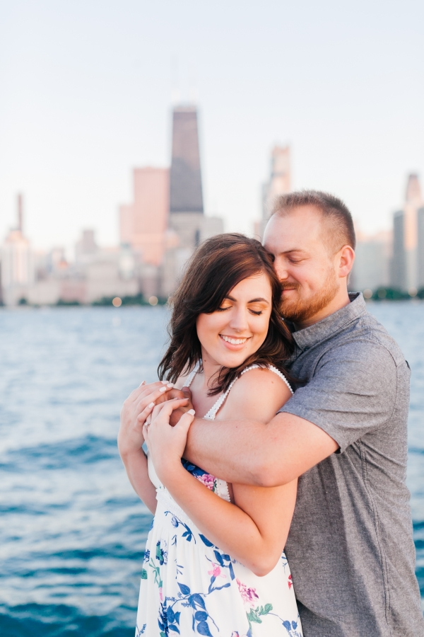 Lakefront Trail Chicago Engagement Session Janet D Photography (52)