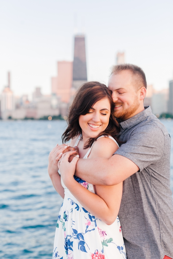 Lakefront Trail Chicago Engagement Session Janet D Photography (53)