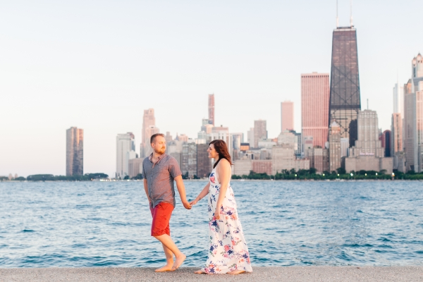 Lakefront Trail Chicago Engagement Session Janet D Photography (57)