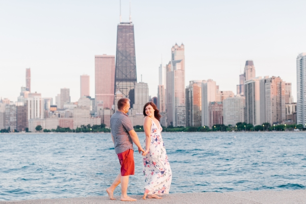 Lakefront Trail Chicago Engagement Session Janet D Photography (58)