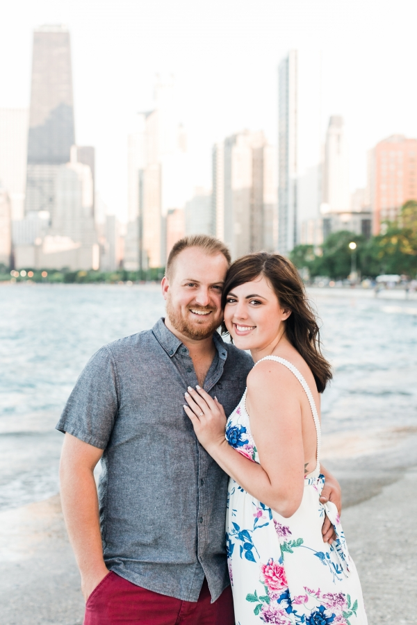 Lakefront Trail Chicago Engagement Session Janet D Photography (6)