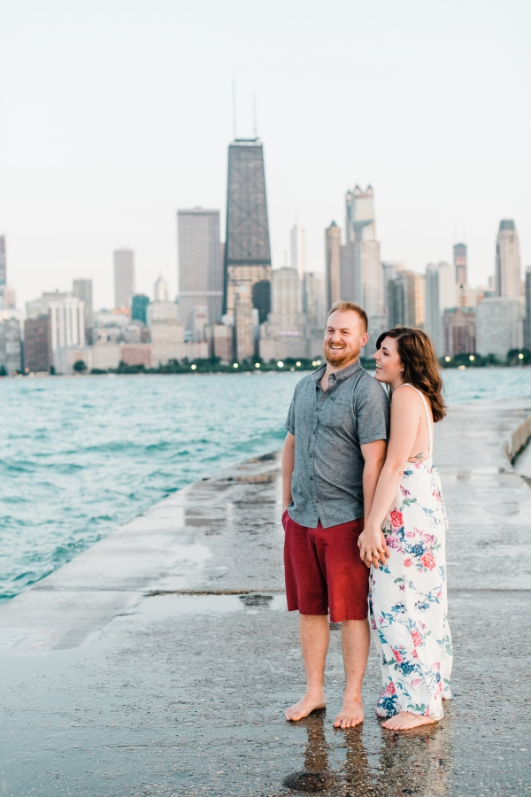 Lakefront Trail Chicago Engagement Session Janet D Photography (63)