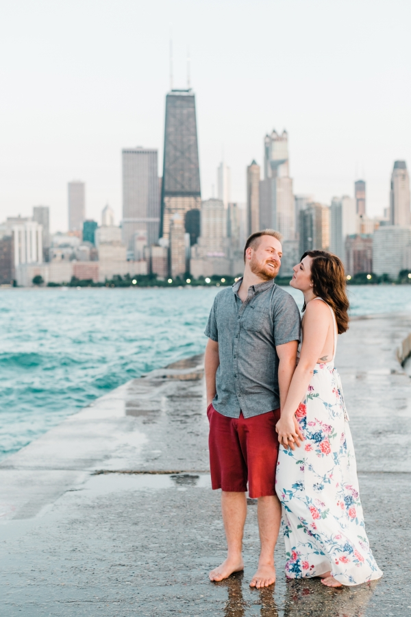 Lakefront Trail Chicago Engagement Session Janet D Photography (64)