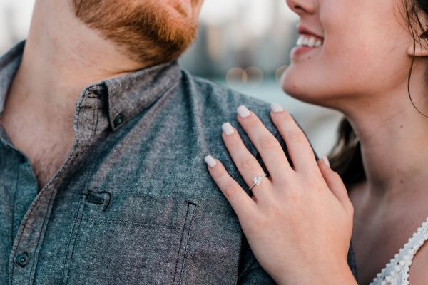 Lakefront Trail Chicago Engagement Session Janet D Photography (65)