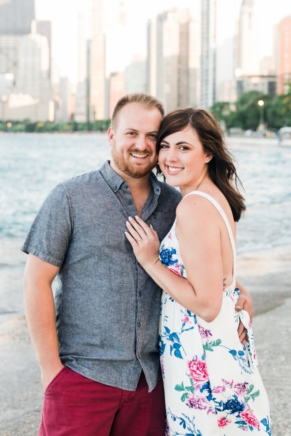 Lakefront Trail Chicago Engagement Session Janet D Photography (7)