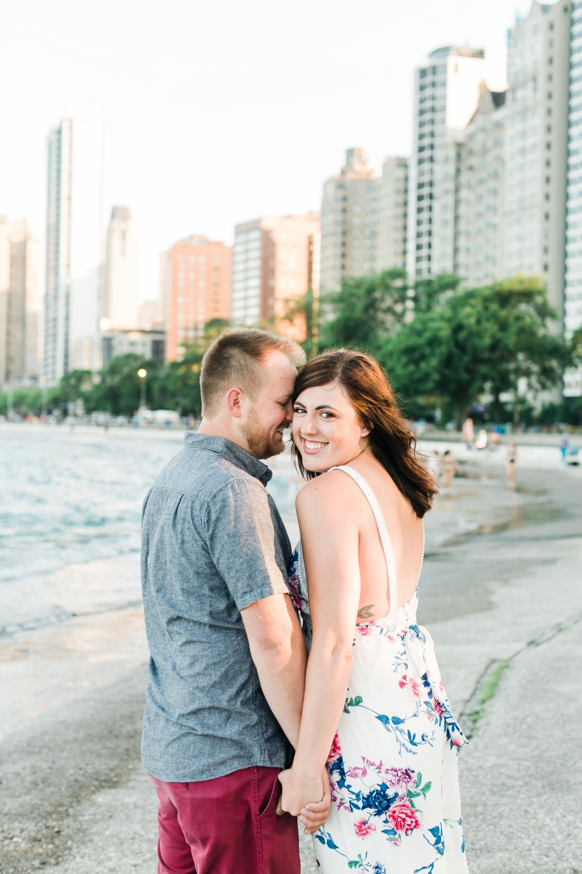 Lakefront Trail Chicago Engagement Session Janet D Photography 8