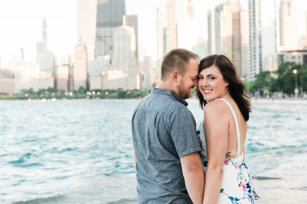 Lakefront Trail Chicago Engagement Session Janet D Photography (9)