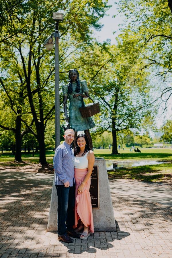 Oz Park Chicago Engagement Session