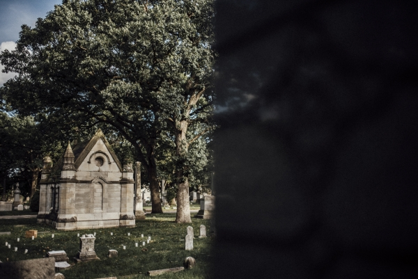 Rosehill Cemetery Chicago Wedding Inspiration