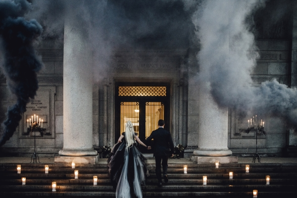 Smoke Bomb Wedding Inspiration
