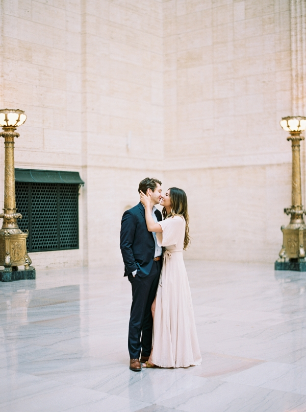 Union Station Engagement Session Chicago (37)