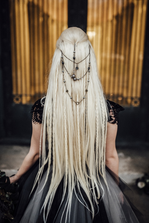 Wiccan Wedding Hair