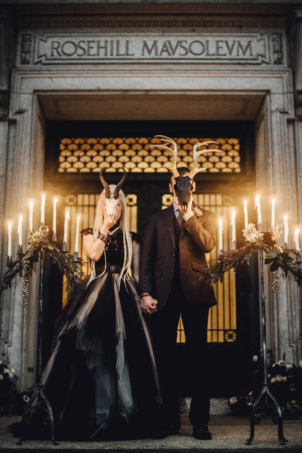 Wiccan Wedding Inspiration Chicago