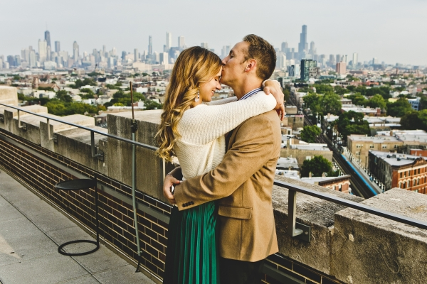 Wicker Park Chicago Engagement Session (16)