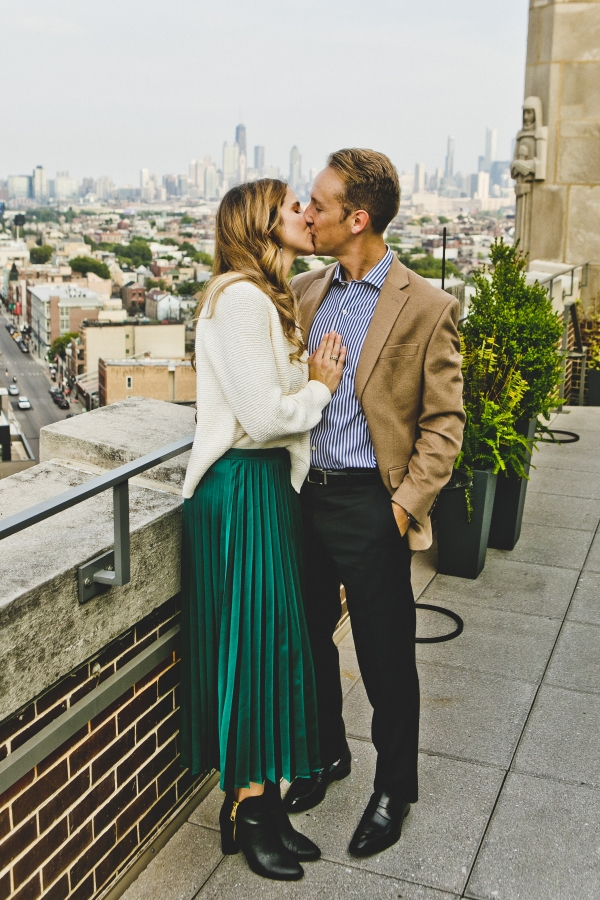 Wicker Park Chicago Engagement Session