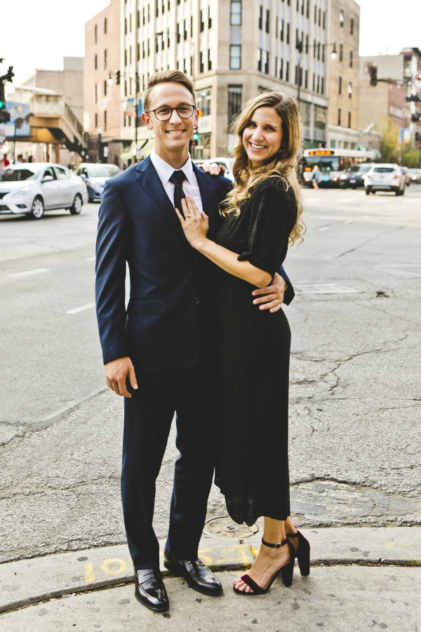 Wicker Park Chicago Engagement Session (2)