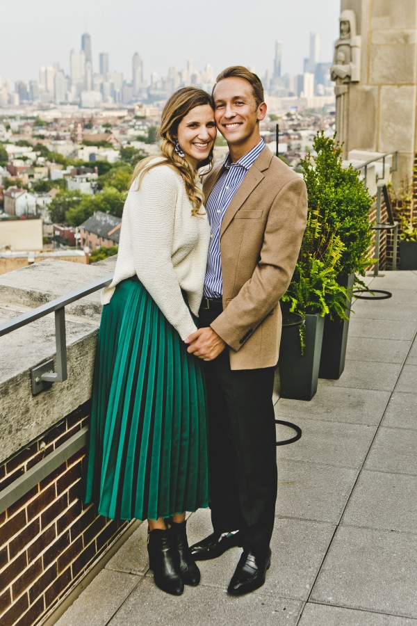 Wicker Park Chicago Engagement Session (20)