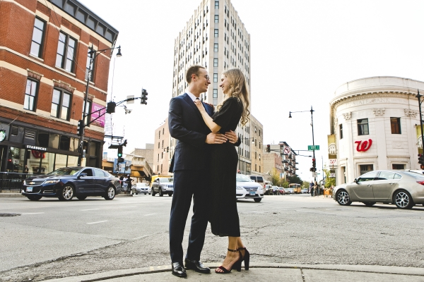 Wicker Park Chicago Engagement Session (5)