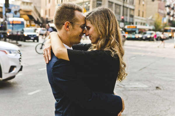Wicker Park Chicago Engagement Session (6)