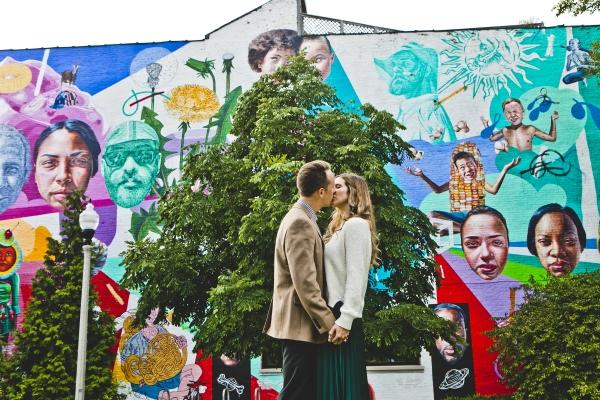 Wicker Park Mural Engagement Photos