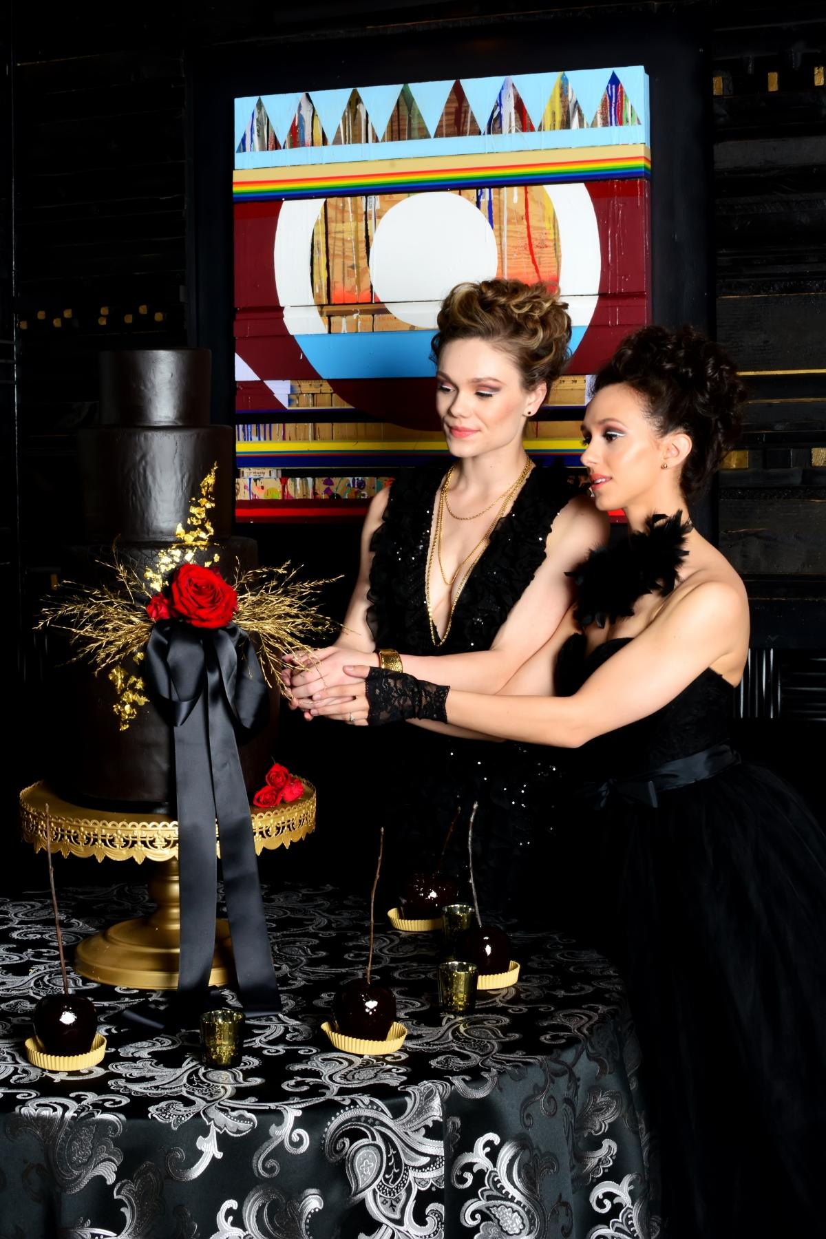 Black Swan Ballet Wedding Inspiration Chicago
