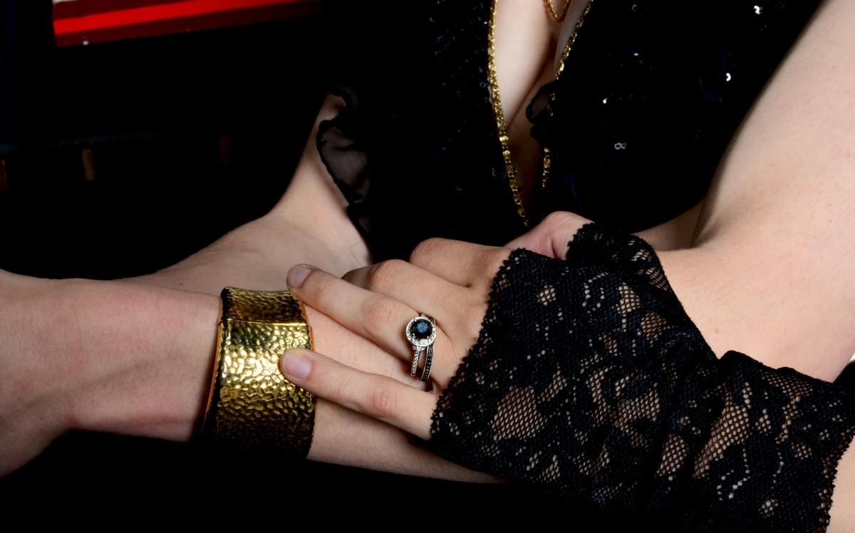 Black Swan Wedding Inspiration Chicago