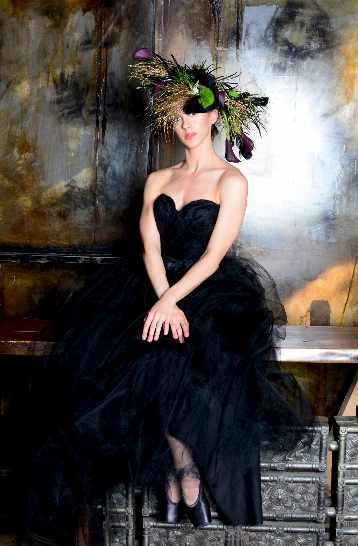Black Swan Chicago Ballet Wedding Inspiration