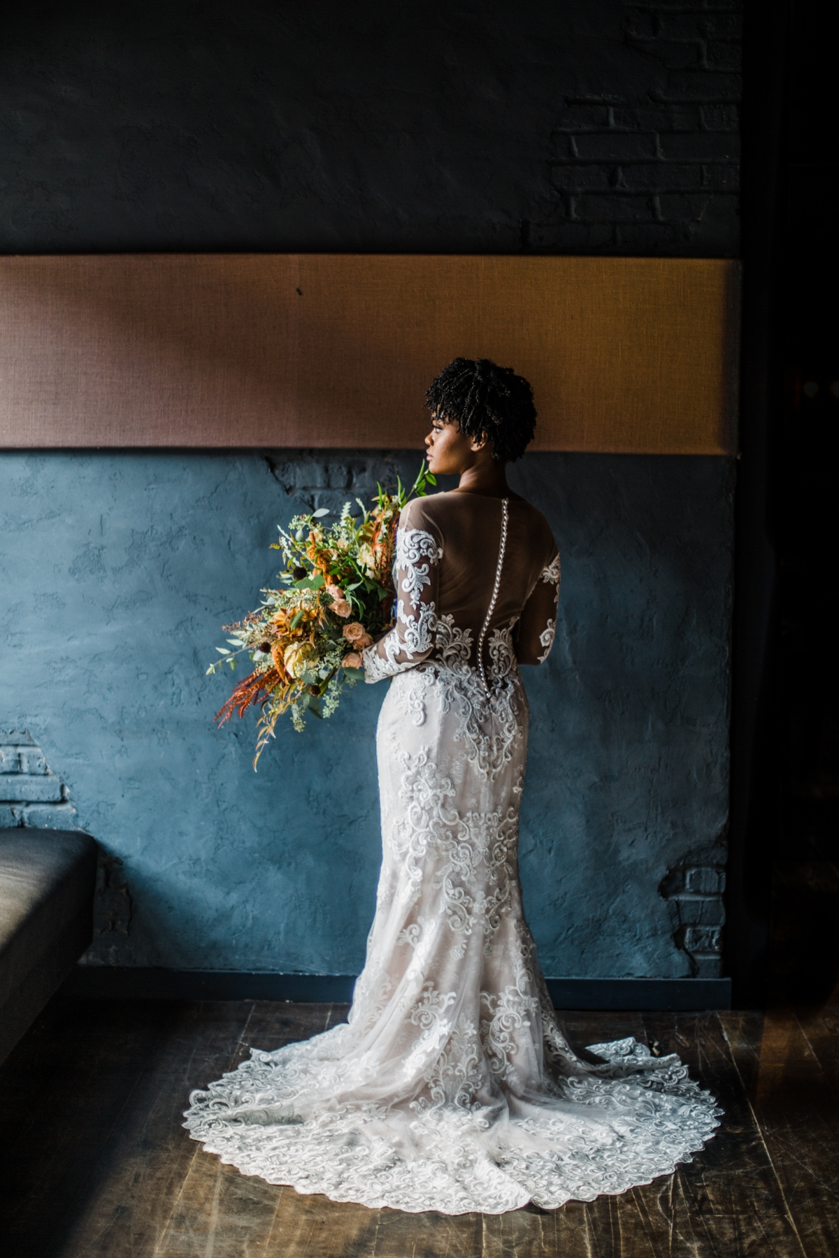Chicago Bride in Casablanca