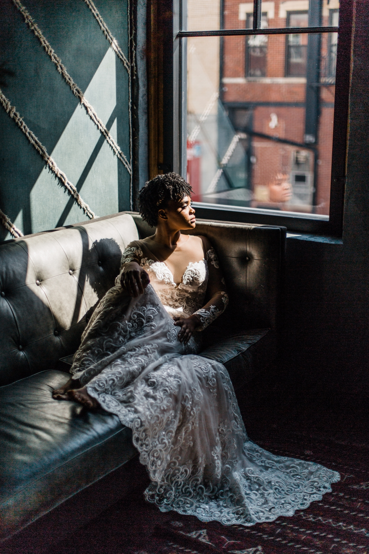 Dramatic Chicago Bridal Photos Grace Rios