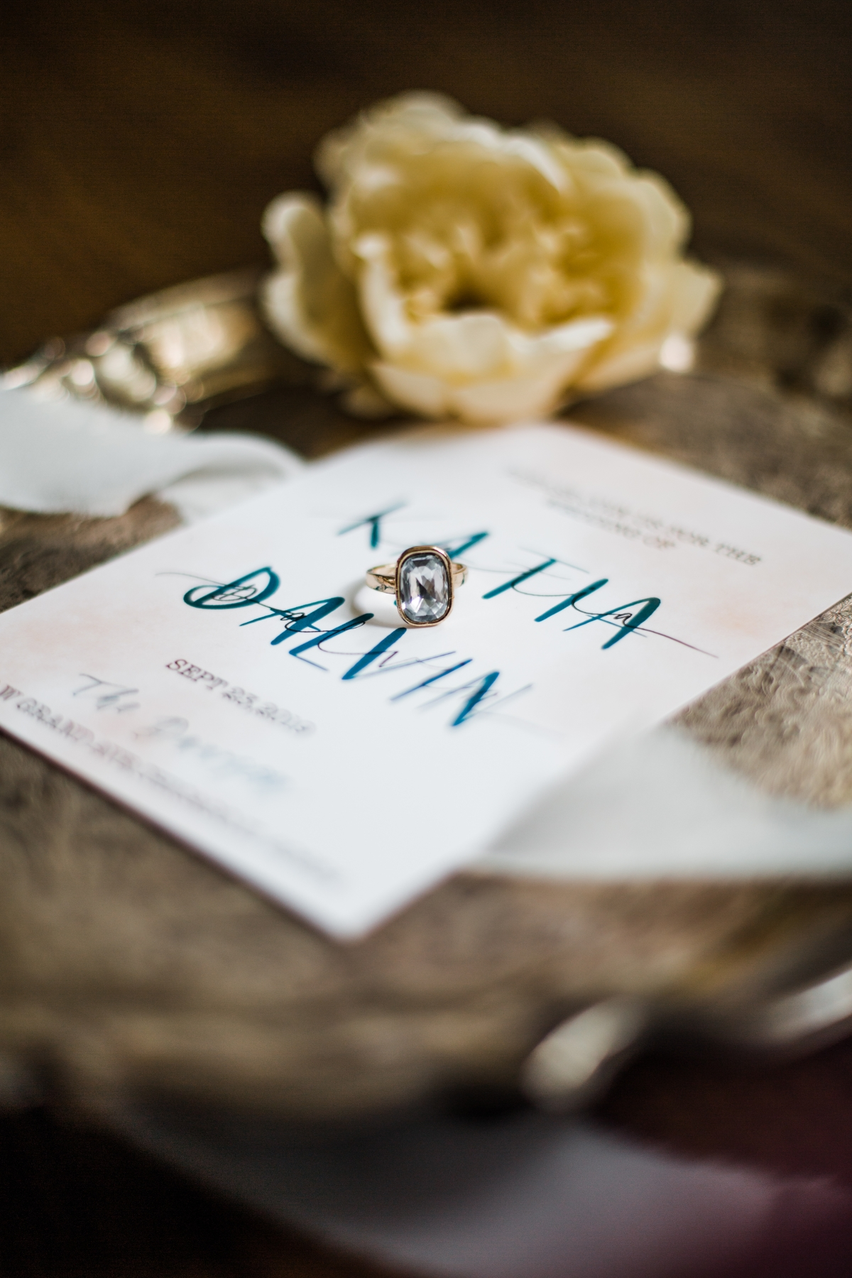 Modern Chicago Wedding Invitations